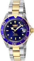 Invicta Pro Diver 8928 - Mannen - Horloge - Zilverkleurig - Automatisch - Ø 40 mm