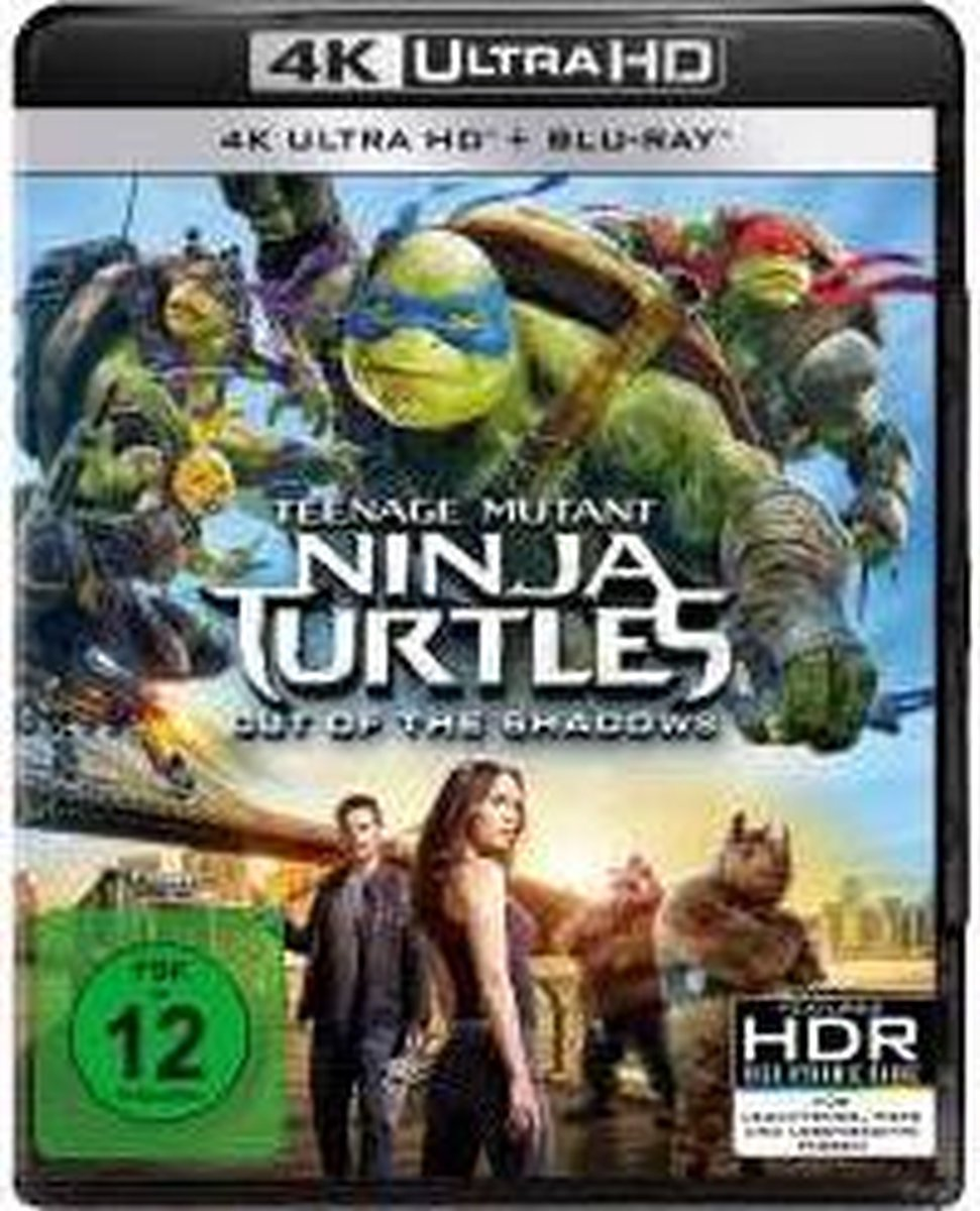 Teenage Mutant Ninja Turtles - Out of the Shadows (Ultra HD Blu-ray)-