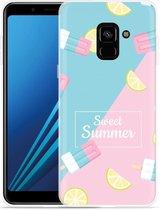 Samsung Galaxy A8 Plus 2018 Hoesje Sweet Summer