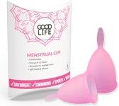 GOODLIFE Menstruatiecup - Herbruikbaar – Maat S