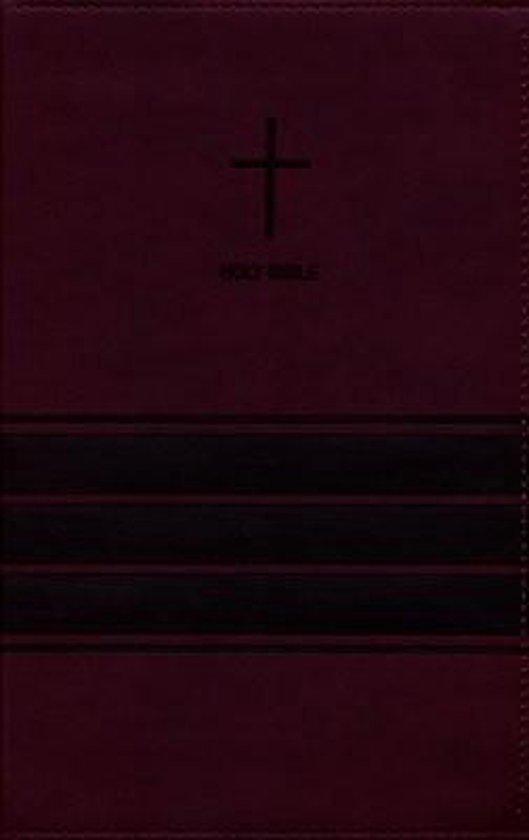 NIV, Value Thinline Bible, Leathersoft, Burgundy, Comfort Print - Diverse auteurs   Fthsonline.com