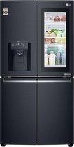 LG GMK9331MT A+ - Amerikaanse koelkast - Geborsteld zeer donker Antraciet