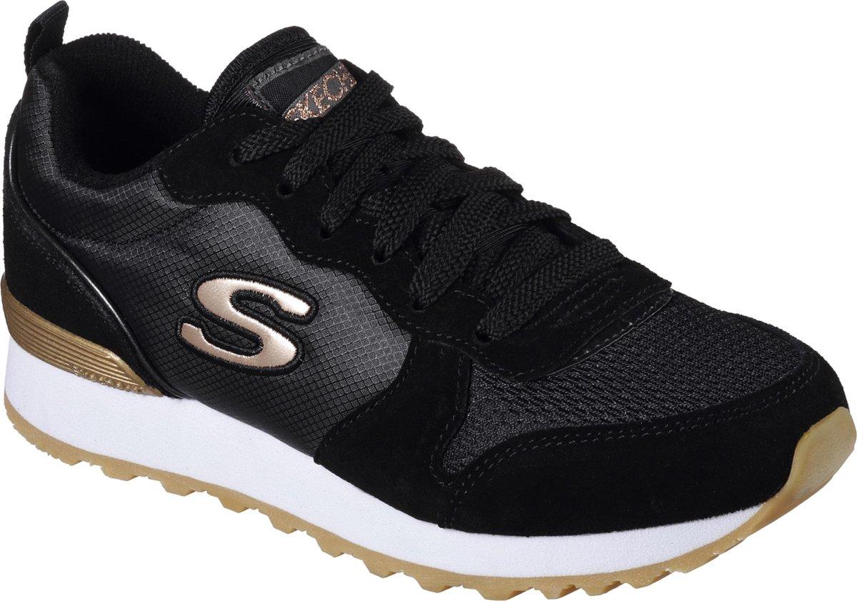 Skechers Retros Og 85 Goldn Gurl Dames Sneakers Zwart Maat 40