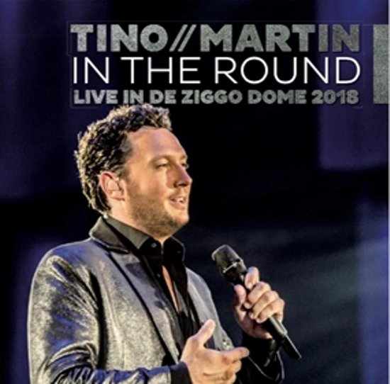 CD cover van In The Round (Live Ziggo 2018) van Tino Martin
