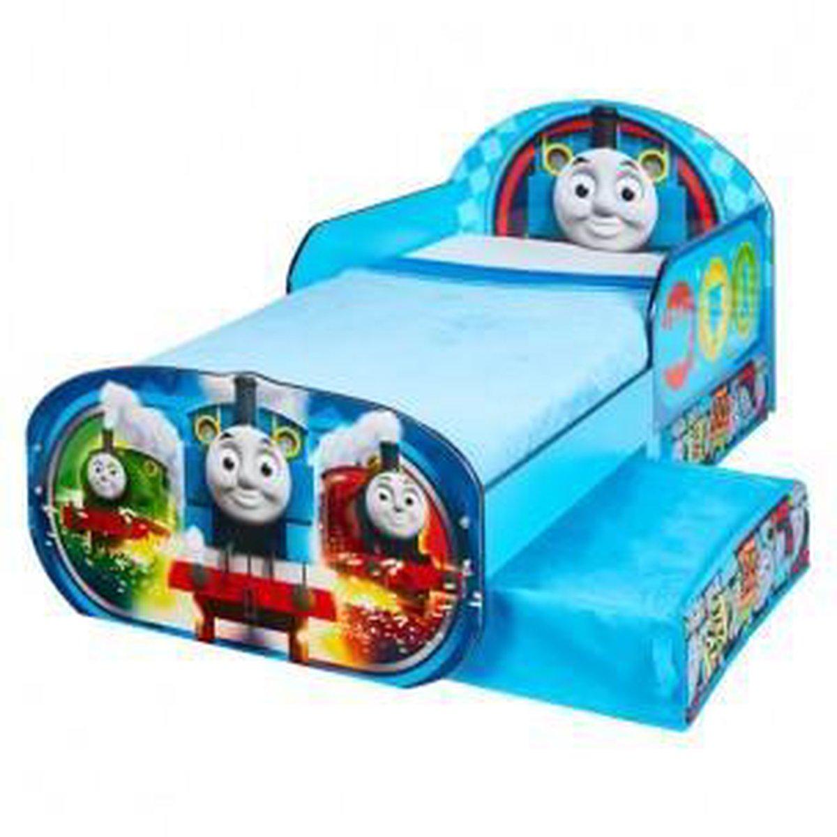 Wonderlijk bol.com   Thomas de Trein Snuggle Time Bed Met Lades IZ-45