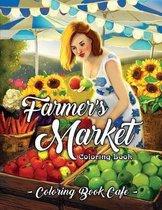 Farmer's Market Coloring Book
