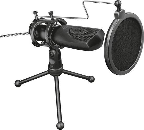 Trust GXT 232 Mantis - Microfoon - Gaming & Streaming - USB - Zwart