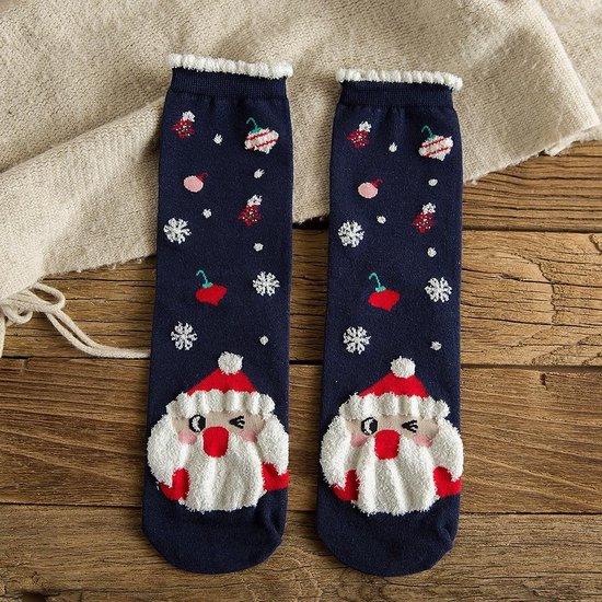 Fluff - Kerst Sokken Set van 3 Paar + Giftbox voor Kerst