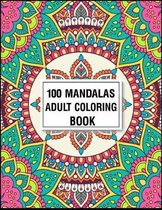 100 Mandala Adult Coloring Book