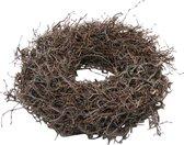 DBT Kerstkrans - Bonsai hout - Ø 45 cm