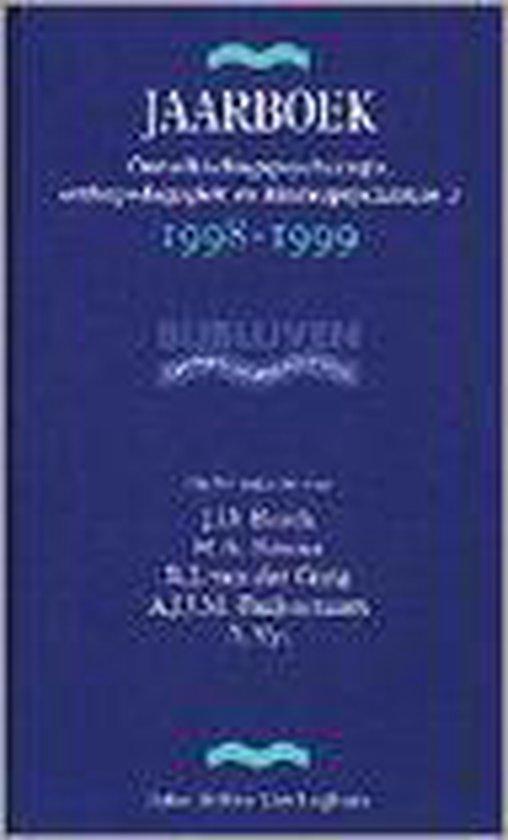 JAARBK ONTWIKKELINGSPSYCHOLOGIE 3 98-99 - J.D. Bosch |