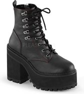 Demonia Enkellaars -40 Shoes- ASSAULT-100 US 10 Zwart