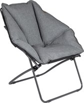 Bo-Camp Urban Outdoor Moon Chair - Silvertown
