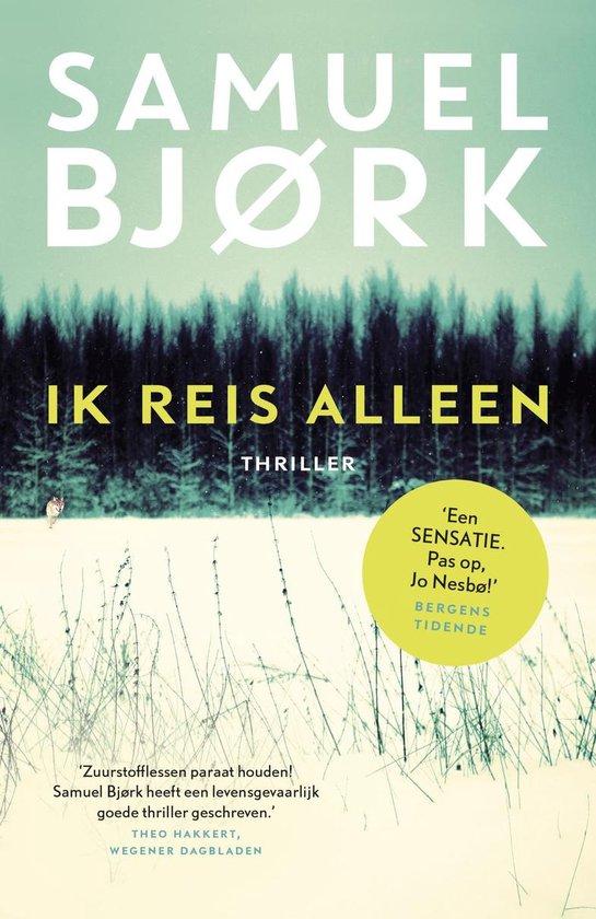 Boek cover Munch & Kruger 1 - Ik reis alleen van Samuel Björk (Onbekend)