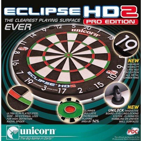 Unicorn Eclipse HD 2 PRO Dartboard   Per stuk