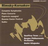 Rimsky-Korsakov: Symphonies, Piano Concerto etc / Kitajenko et al