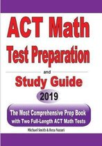 ACT Math Test Preparation and study guide