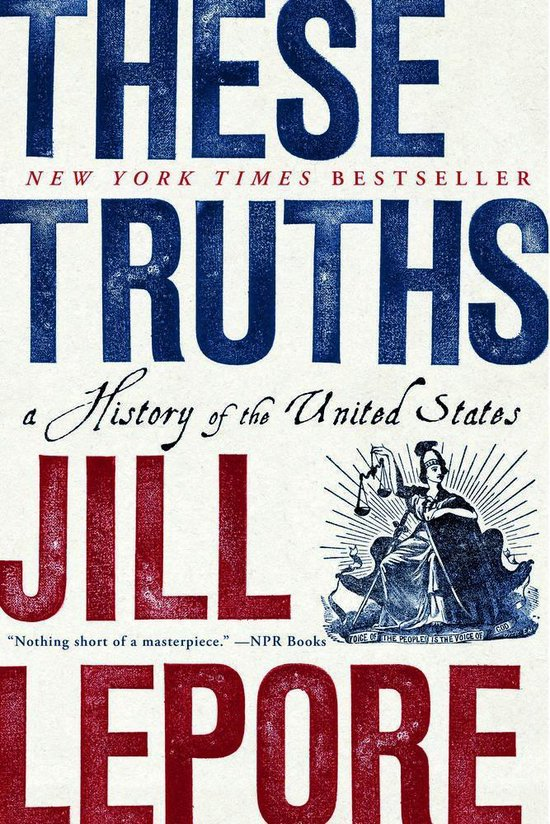 Boek cover These Truths van Jill Lepore (Paperback)