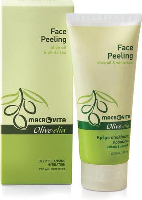 Macrovita Olive-elia Face Peeling met Olijfolie