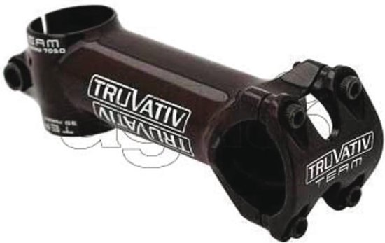 Stuurpen truv rouleur vb80 318mm ahead 10 graden race zwart - ZWART