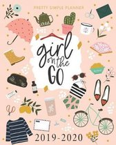 Pretty Simple Planners Weekly and Monthly Girl On The Go Planner