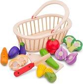 New Classic Toys - Groentemand - Speelgoedeten en -drinken