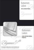 Elegance Laken Katoen Perkal - zwart 150x250