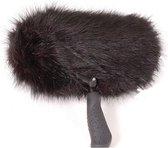 Reinhardt Soft Zep Black Long Hair 30cm incl PG3 Pro - Microfoon windshields