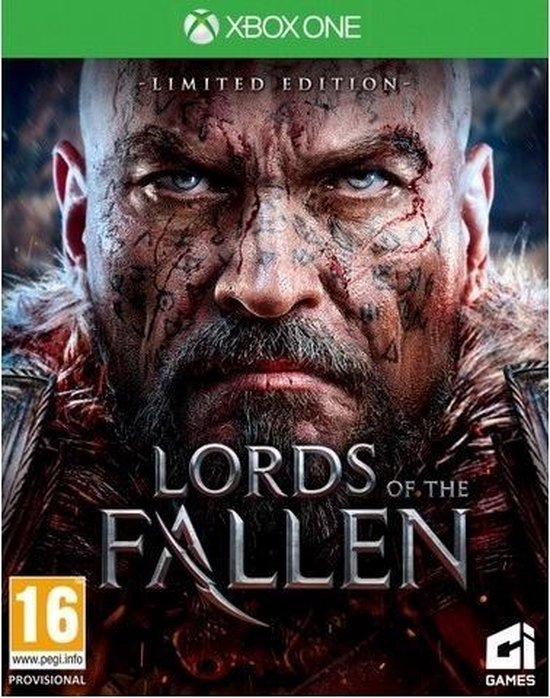City Interactive Lords of the Fallen Limited Edition, Xbox One Basis Engels