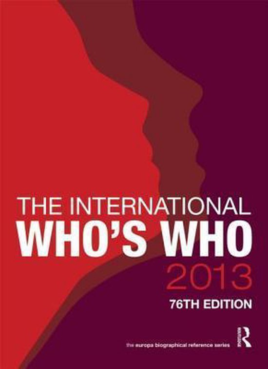 The International Who's Who 2013