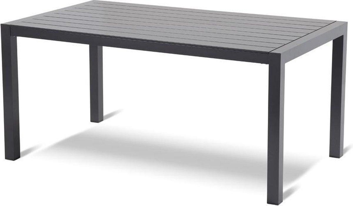 Hartman Living tuintafel 160x94xH75 cm grijs
