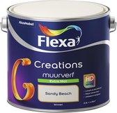Flexa Creations Muurverf - Extra Mat - Sandy Beach - 2,5 liter