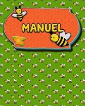 Handwriting Practice 120 Page Honey Bee Book Manuel