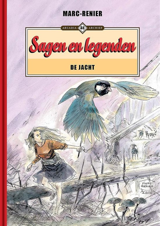 Archief 48 sagen en legenden - de jacht - Marc-Renier  