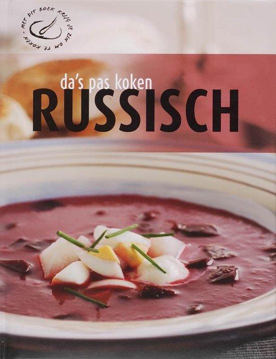 Da's pas koken - Russisch - nvt |