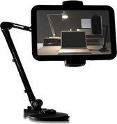 DELTACO ARM-250 Universele houder voor Smartphone & Tablet, (4 – 12,2 inch), zuignap, 360 graden rotatie