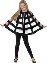 """""""Spinnenweb cape voor kinderen Halloween  - Verkleedattribuut - One size"""""""