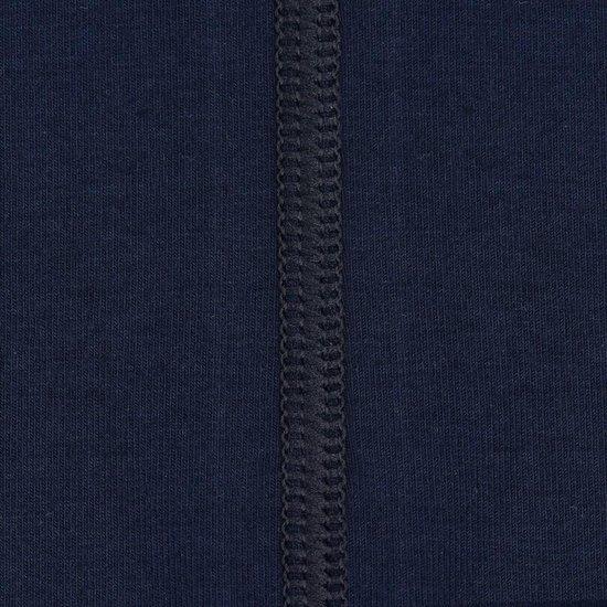 4xl 2pack T-shirt Heren V-hals Blauw | Grote Maten Buikmaat 138 -145...