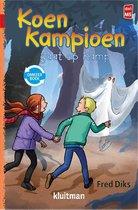 Koen Kampioen  -   Koen Kampioen omkeerboek-op kamp-in de krant
