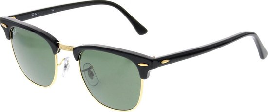 Ray-Ban RB3016 W0365  Clubmaster (Classic) zonnebril - 49mm