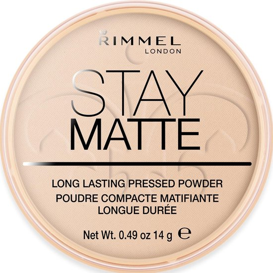 Rimmel London Stay Matte Pressed - 003 Peach Glow - Powder