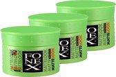 Fonex gummy wax matte look 100ml (3-pack)