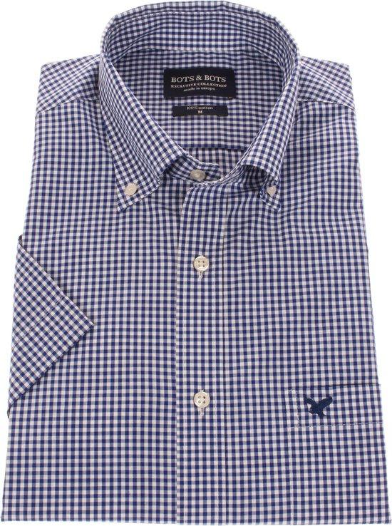 hemd geruit Heren Overhemden Met Korte Mouw in maat L
