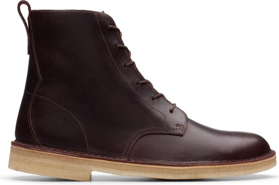 Clarks Desert Mali Heren Veterboot - Chestnut Leather - Maat 43