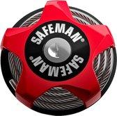Mountainbike & Racefiets Slot | Fietsslot | Compact & Multifunctioneel | Rood