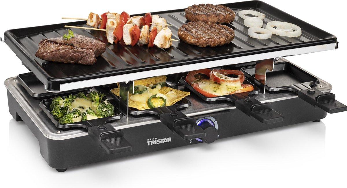 Tristar Gourmetstel 8-persoons 1400 W 46x23 cm zwart online kopen