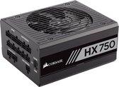 Corsair HX750 power supply unit 750 W ATX Zwart