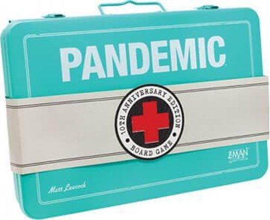 Afbeelding van het spel Asmodee Pandemic 10th Anniversary - Engelstalig