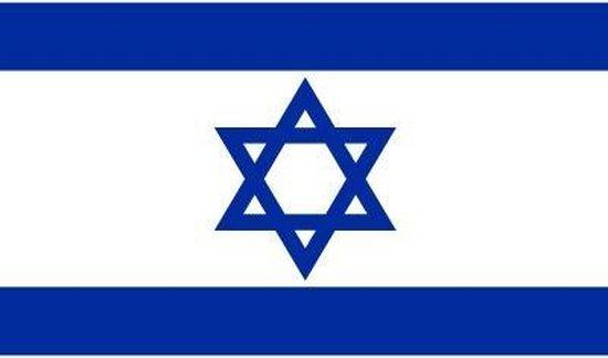 Vlag Israel stickers