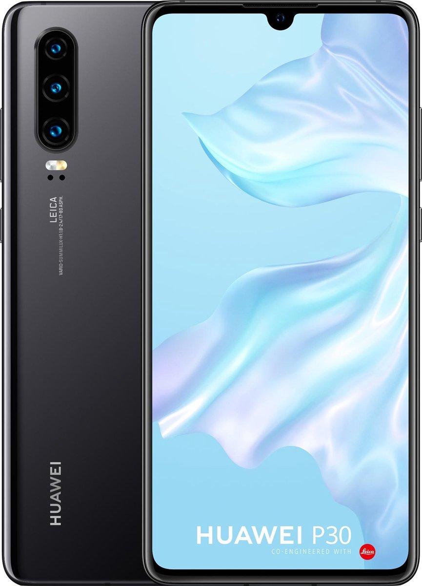 Huawei P30 – 128GB – Zwart